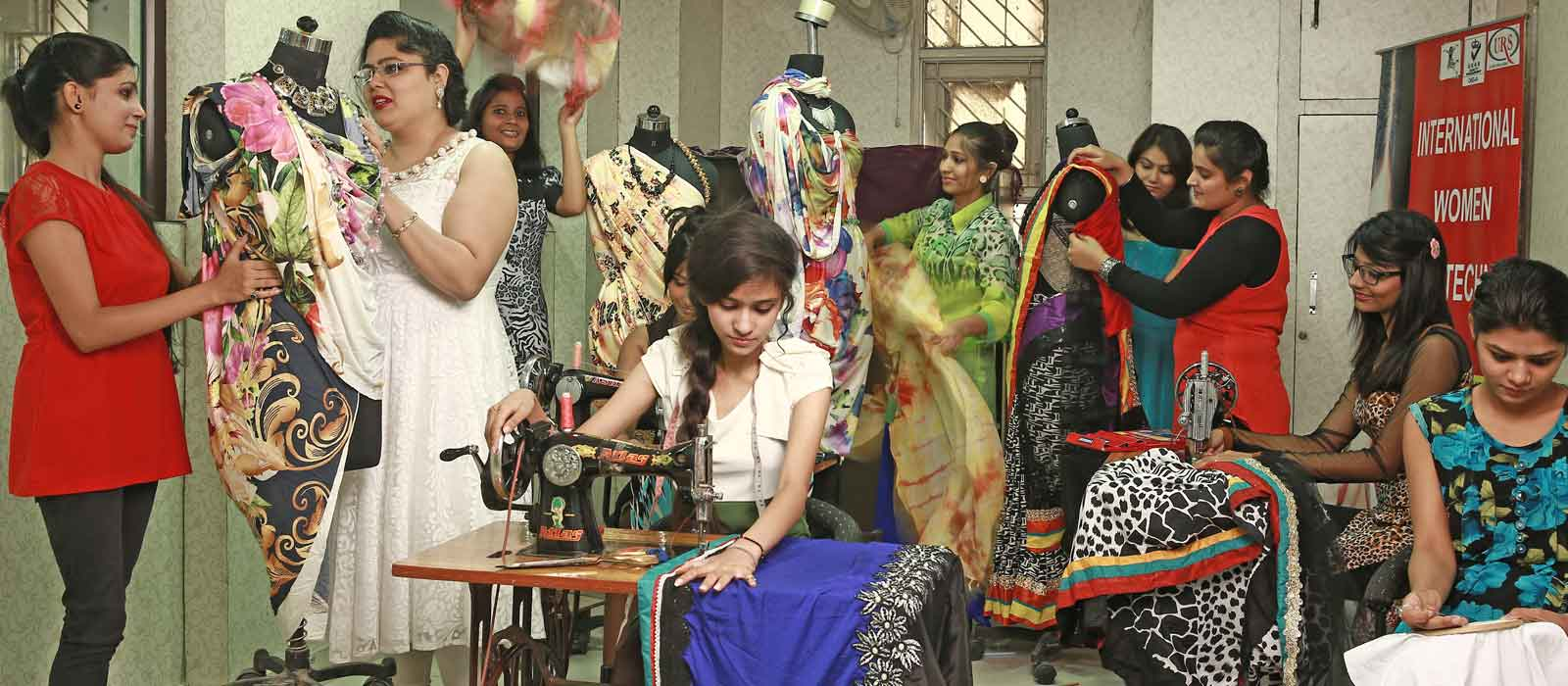 Women Polytechnic For Fashion Designing Course Interior Designing Course In Delhi Best Professional Courses Institute Nursery Teacher Training